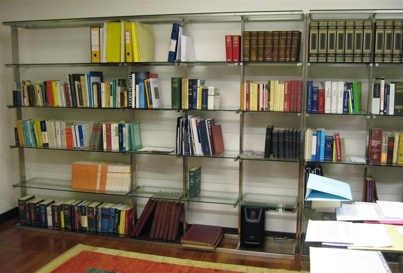 Librerie Metallo Milano.Librerie In Metallo Libreria Design In Acciaio Cfm